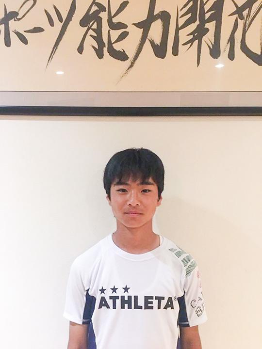 グランデアメージングアカデミーFC 所属の保坂知希選手